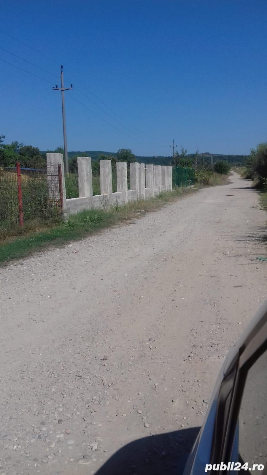 teren intravilan-parcela 1200 mp aproape Mioveni la soseaua Pitesti