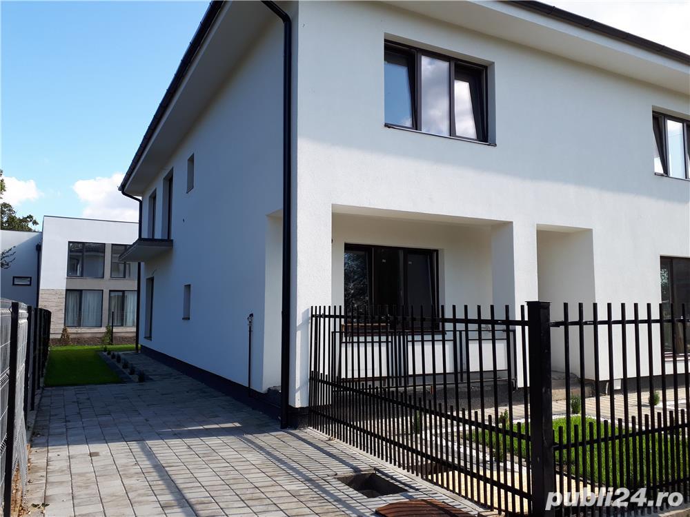 Dezvoltator casa duplex 4 cam 2 bai 120 mp intabulat la gri Selimbar
