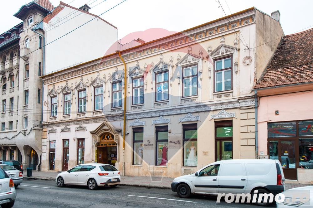EXCLUSIVITATE RE/MAX! Vanzare imobil  istoric din centrul Clujului