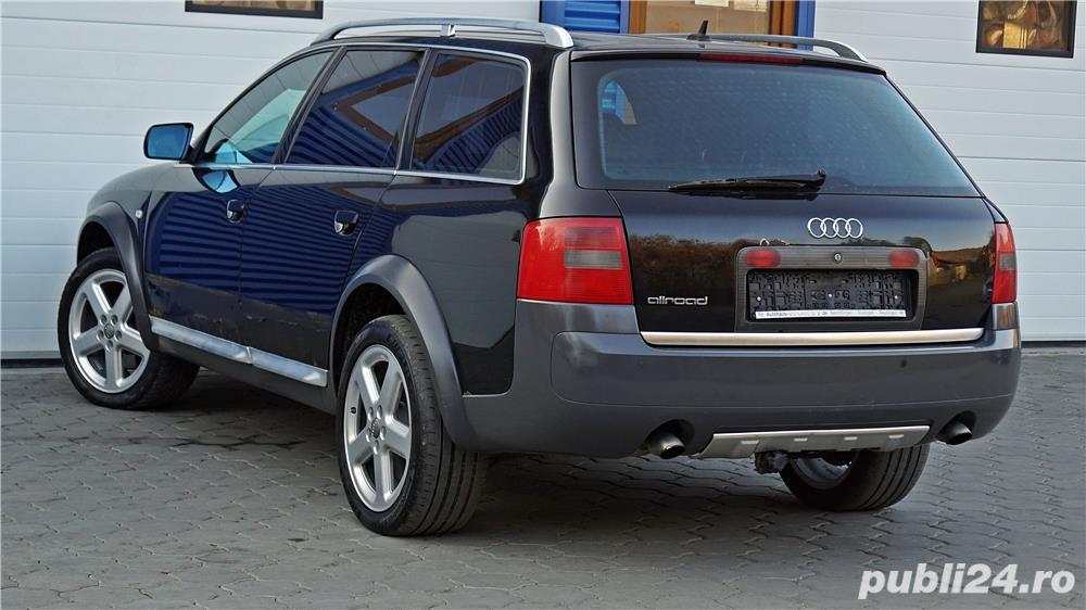 Audi A6 Allroad, 2.5 TDI, 180CP, Euro3, cutie manuala, piele, xenon, suspensie reglabila.