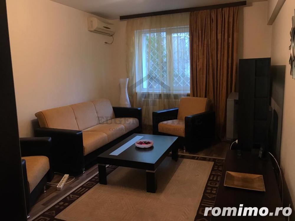 Apartament la parter in Domenii intr-un bloc de 4 etaje