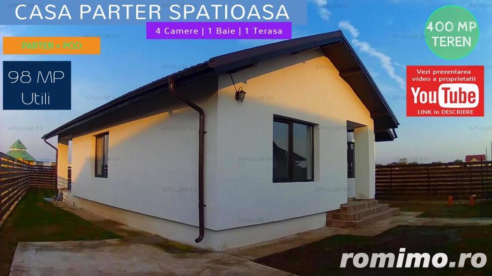 Casa Parter cu 4 Camere si 400 mp Teren in Crevedia/Buftea