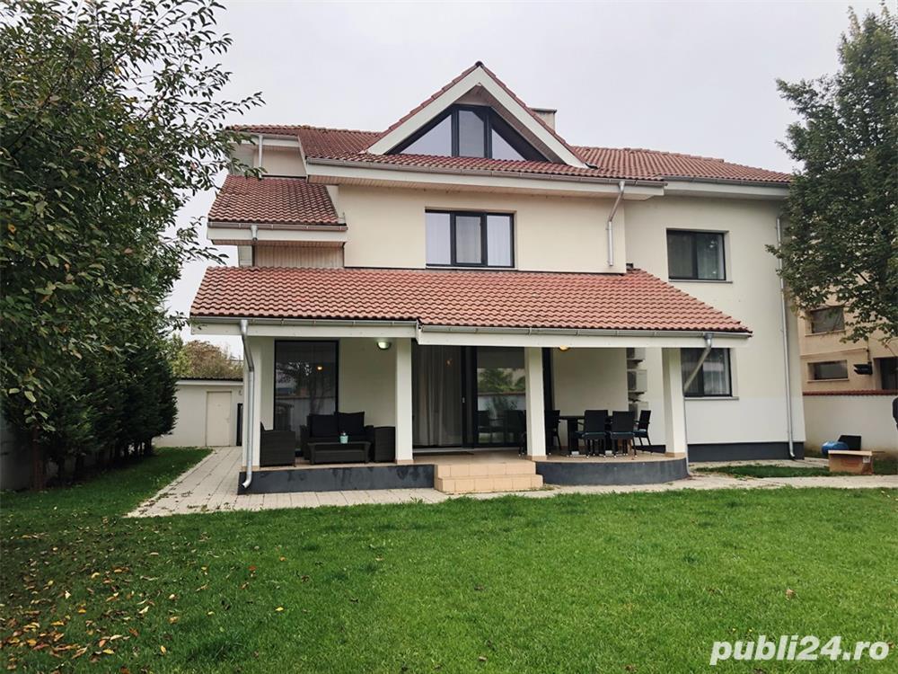 Vila Pipera - Stefan Cel Mare S+P+1+M 722 mp teren 400 mp utili 450000 Euro