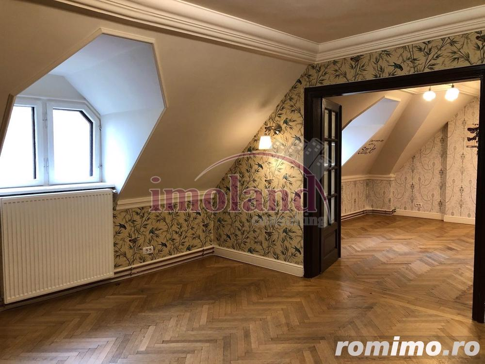 Inchiriere spatiu birou la mansarda - 3 camere Dorobanti - Capitale