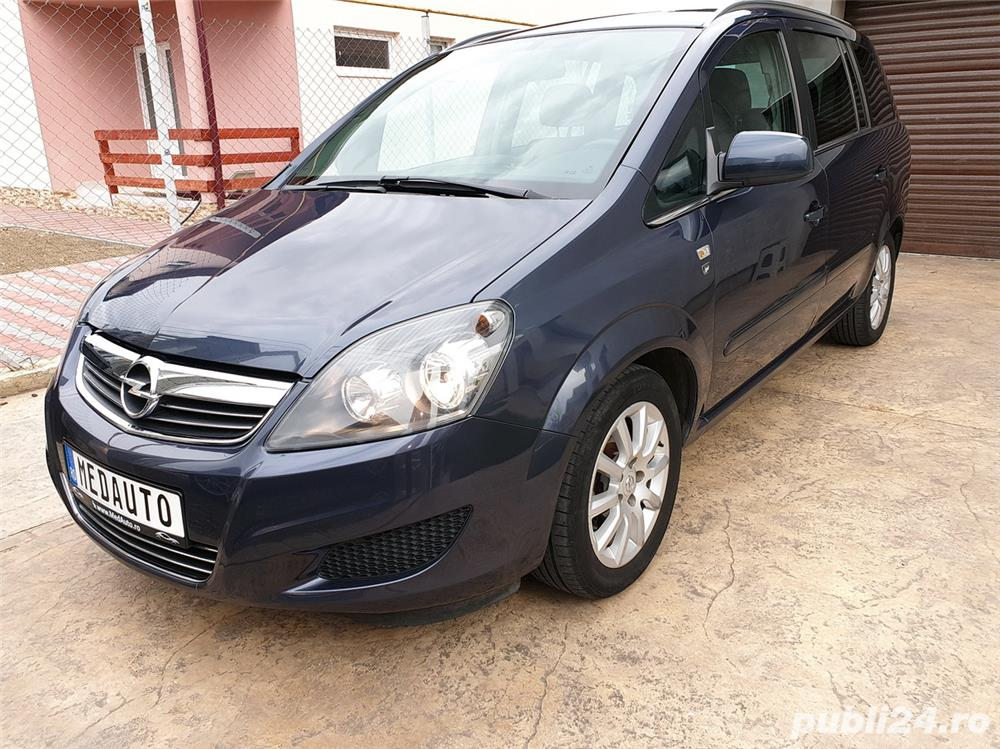 Opel ZAFIRA, an 2011, 7 locuri, 1.7 CDTi, Euro 5, EcoFlex, RAR, KM pe factura * FINANTARE