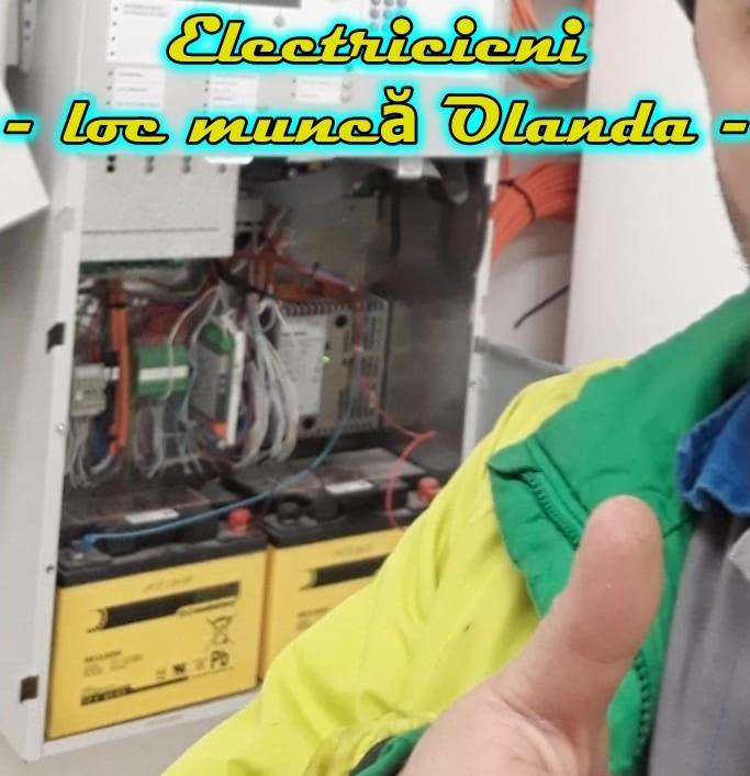 ELECTRICIENI cu experiență în domeniul construcțiilor navale sau industriale, muncă Olanda