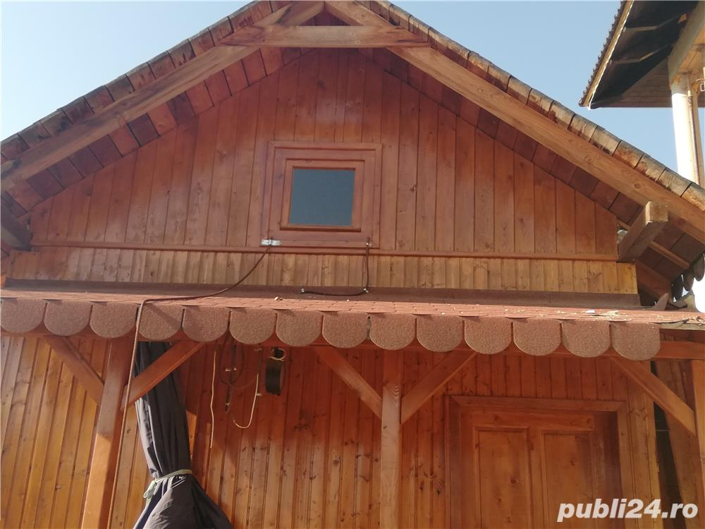 Cabana lemn transportabila