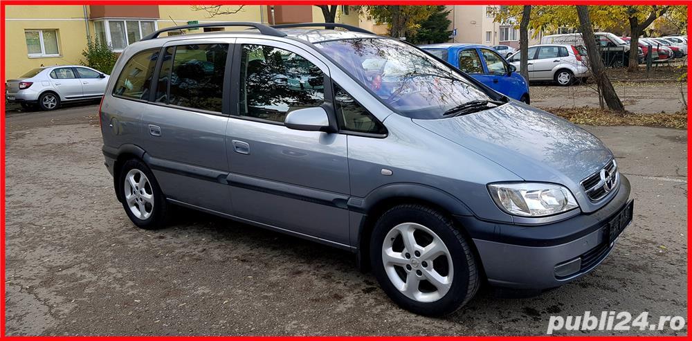 Opel Zafira 2,0 TDDI Facelift 7 Locuri