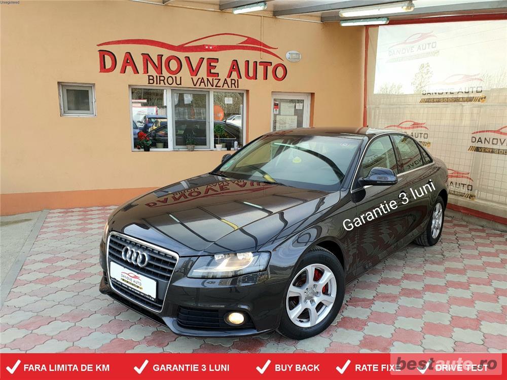 Audi A4,GARANTIE 3 LUNI,BUY BACK,RATE FIXE,motor 2000 TDI,143 CP,Navi,Piele