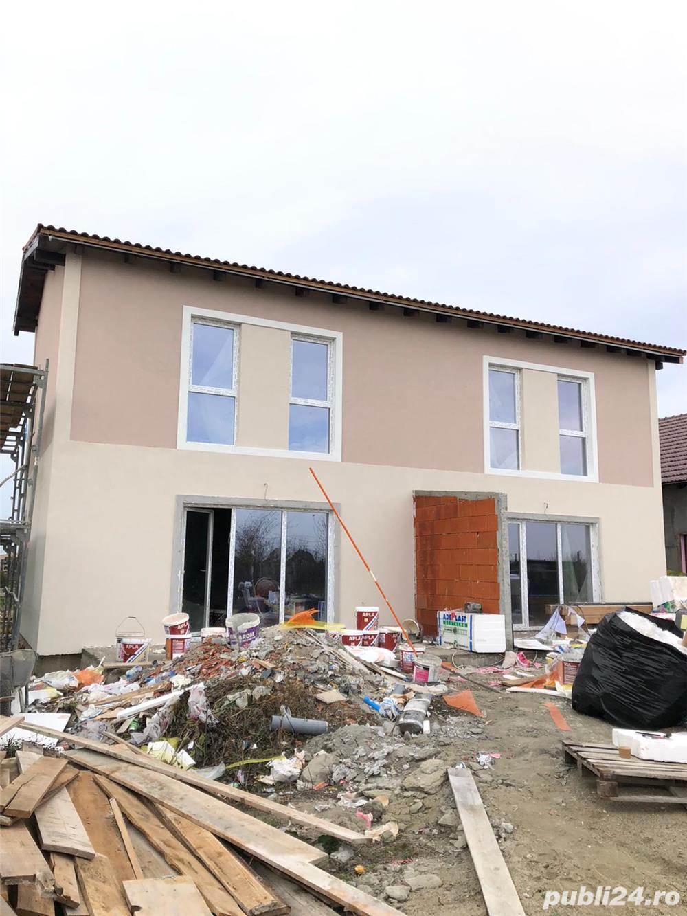 1/2 duplex in dumbravita 4 camere finalizat