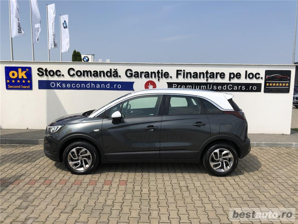 "Opel Crossland X | 1.6D | MT6 | 16"" | Senzori parcare | Volan+scaune incalzite | Clima | 2018"