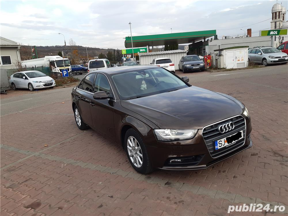 Audi A4 B8-AN 2014 -150CP-Line Assist-Distronic