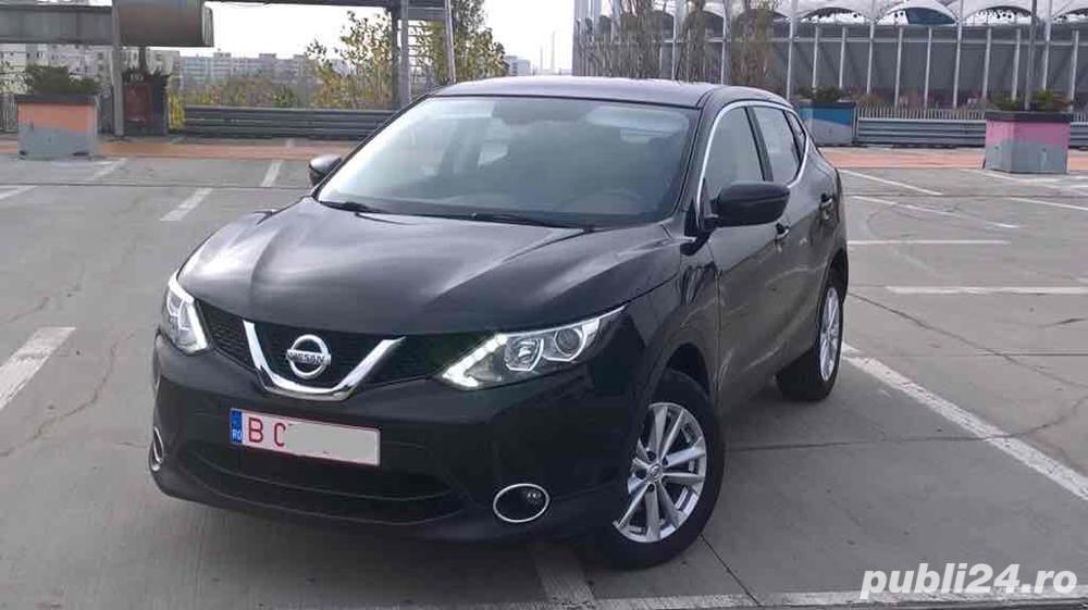 "Nissan Qashqai Navi/Xenon/Lane Assist/Dublu Clima/Camera video/Alarma/Senzori/Jante""17/LED Full"