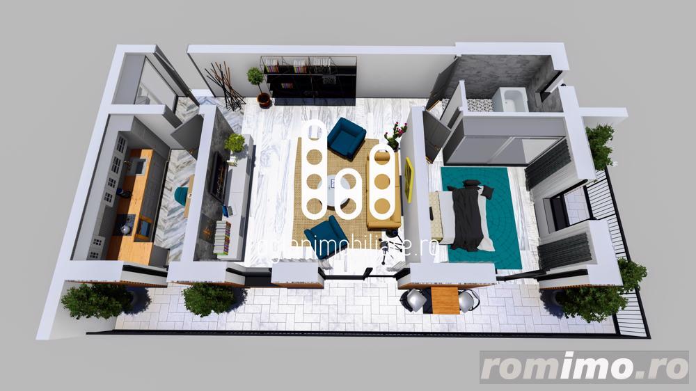 Apartament 2 camere etaj intermediar Cartierul Tineretului