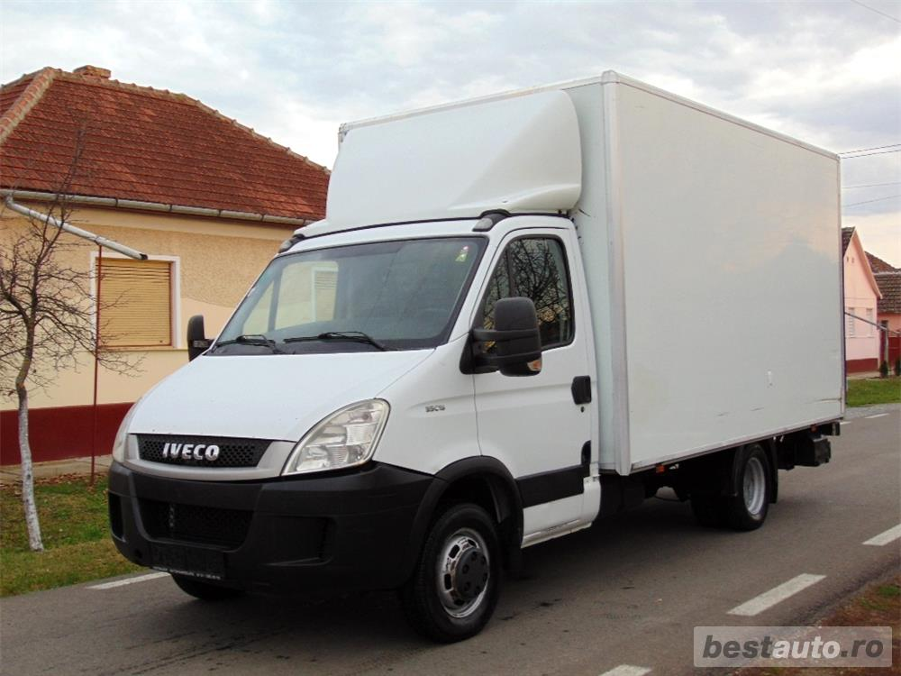 IVECO Daily 35C15 - koffer cu LIFT - an 2010