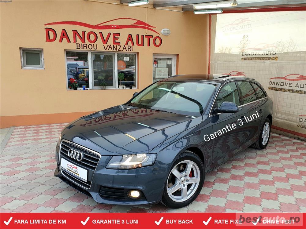 Audi A4,GARANTIE 3 LUNI,BUY BACK,RATE FIXE,motor 2000 TDI,143 CP,Piele,Navi,Trapa.