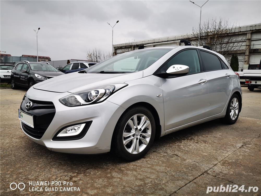 Hyundai i30 1.6 benzina AUTOMATA 135cp cu GPL, 70.000 km reali!