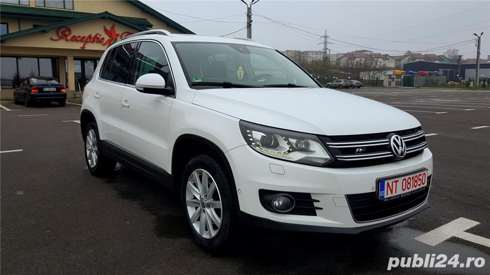 Vw Tiguan 2012 RAR efectuat 4x4-170CP R-Line Manual Xenon Panoramic Piele LED Zoll