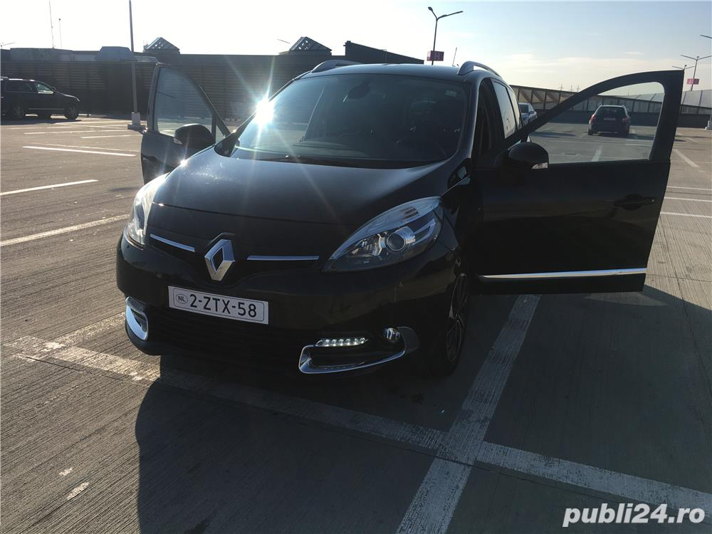 Renault Grand Scenic, 2015 Bose Limited Edition, Euro 6
