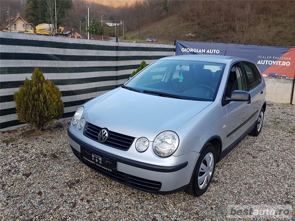 VW Polo Euro 4, 1.2 benzina,4 usi, an 2003.