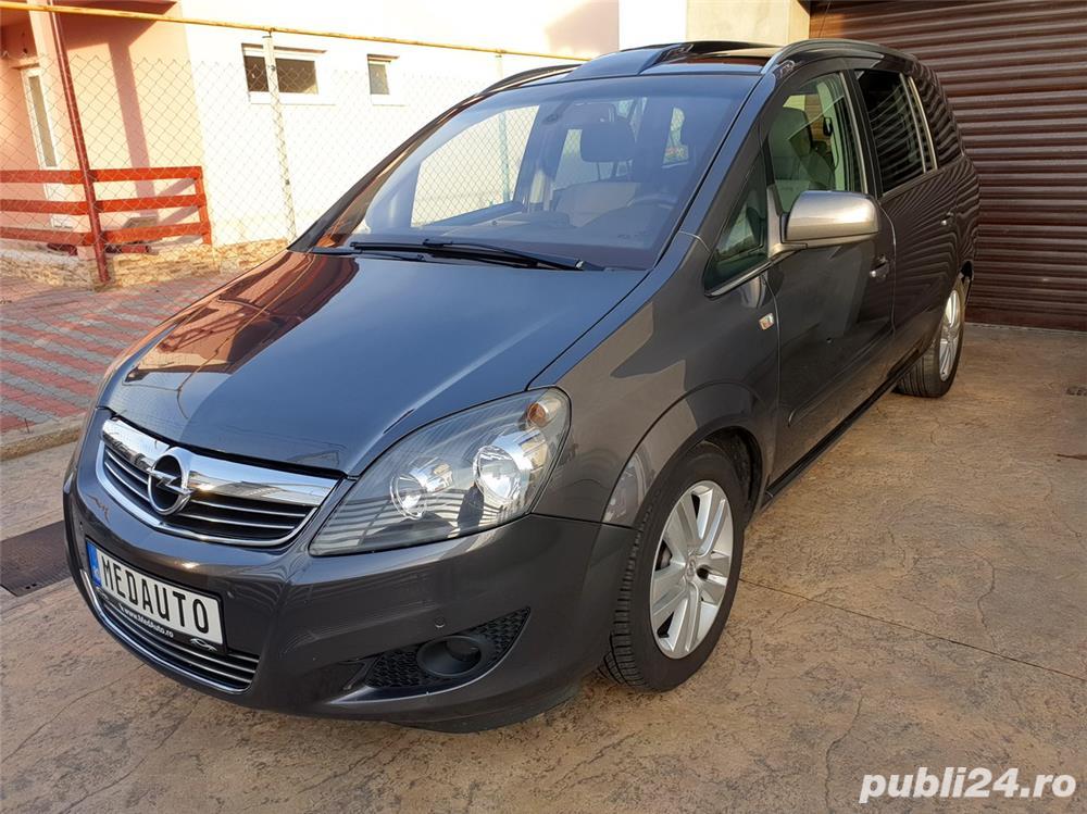 Opel Zafira, 2011, 7 locuri, PANORAMIC, 1.7 CDTi, Euro 5, CLIMATRONIC, KM pe factura *Finantare*