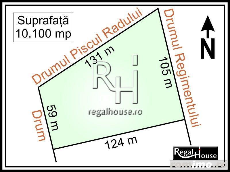Baneasa - Sisesti, Regimentului, teren 10.100 mp