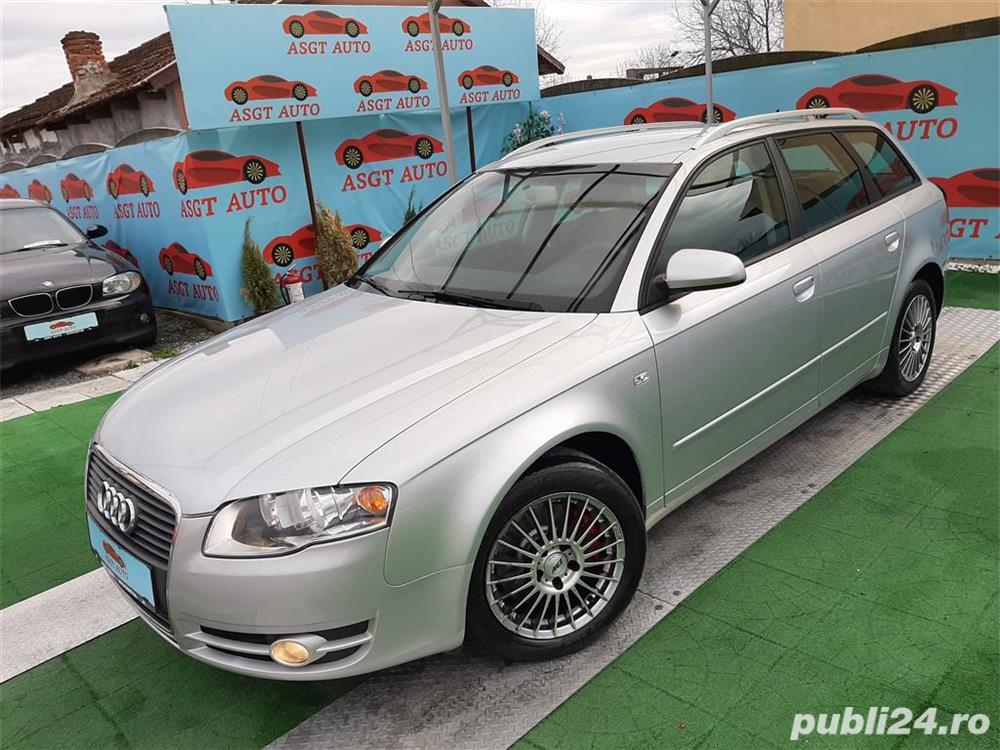 Audi A4,GARANTIE,An 2007,Motor 2000 TDI,170 Cp,Climatronic,Pilot Automat.