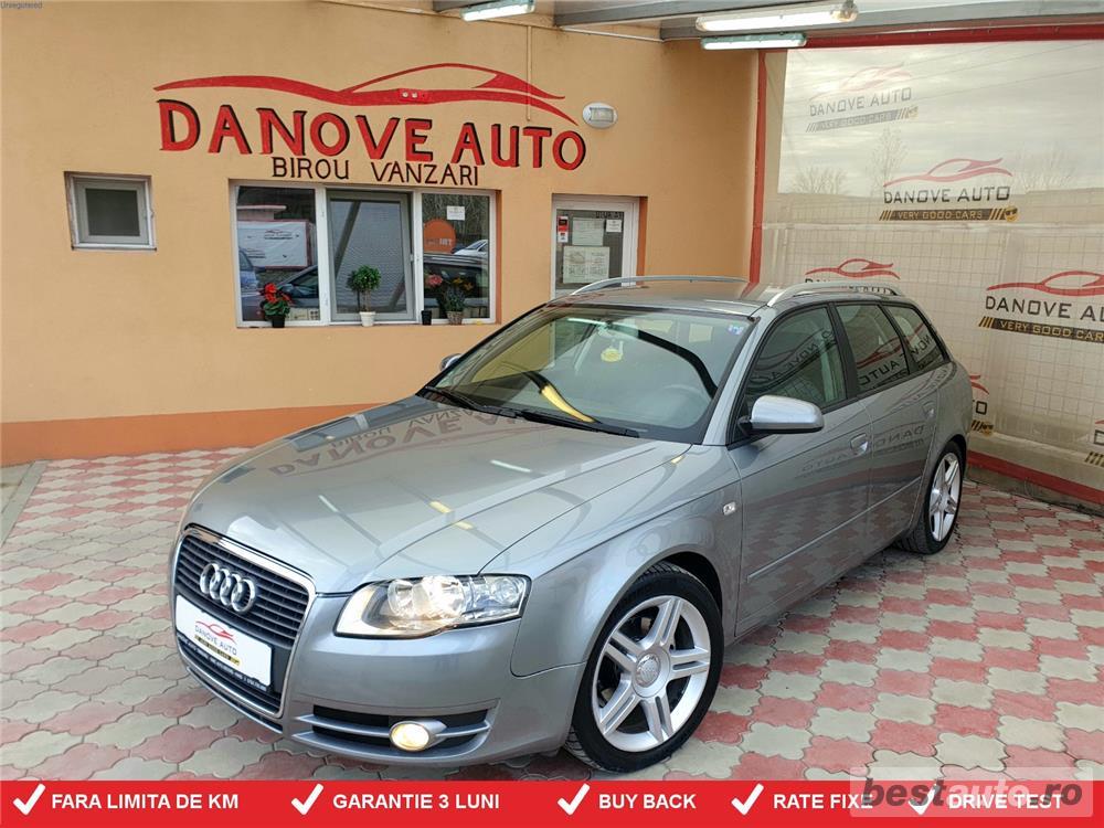 Audi A4,GARANTIE 3 LUNI,BUY BACK ,RATE FIXE,motor 2000 Tdi,140 cp,Automat,S-line.