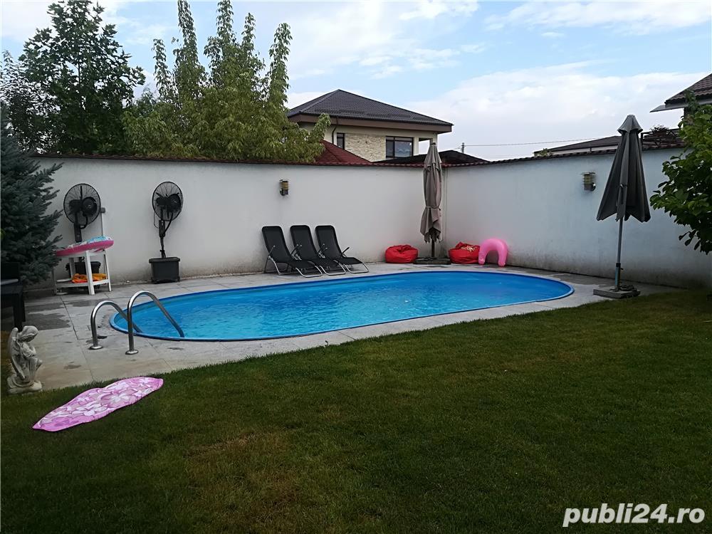 Corbeanca-Padurea Tamas- Casa individuala de lux cu piscina, finisaje deosebite