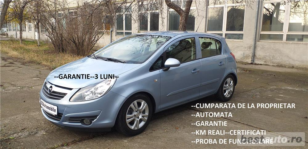 OPEL CORSA D,AUTOMATA,GARANTIE,IMPORT GERMANIA,EURO 4,RATE