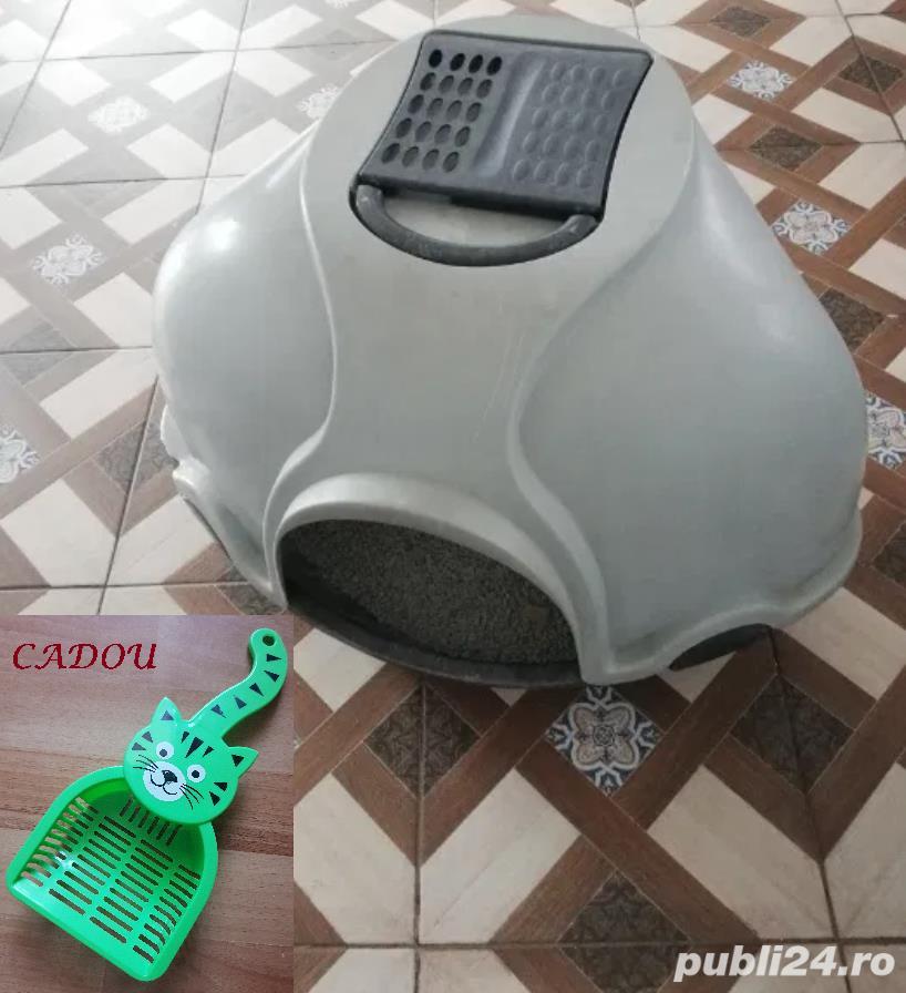 Litiera pisica - Pentru pisicile care sapa sa ajunga in China