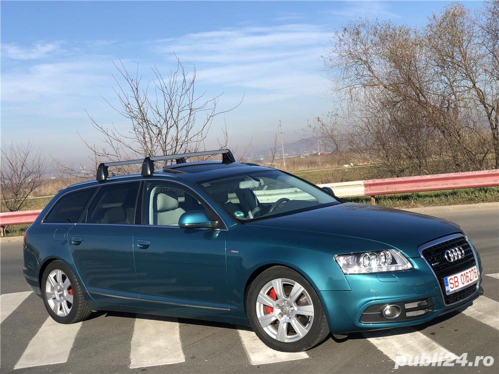 Audi A6 C6 s-line 3,0 tdi quatro
