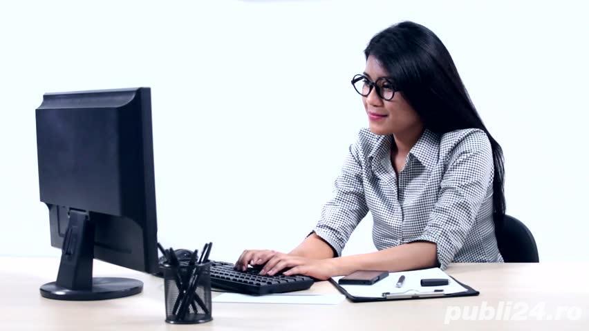 Joburi actuale - de la distanta - se asigura training gratuit