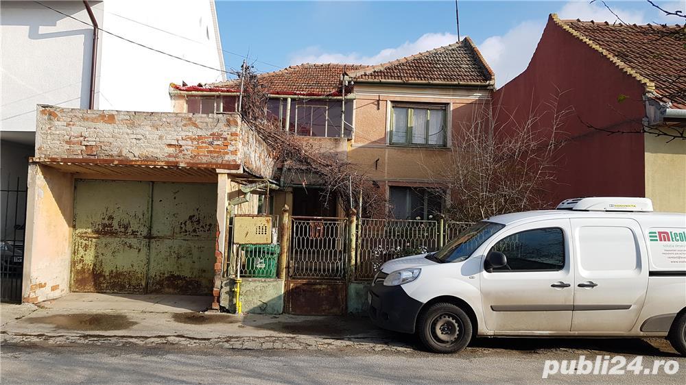 Vand casa P+1E sau schimb cu apartament cu 3 camere + diferenta , in Timisoara , cartier Ronat