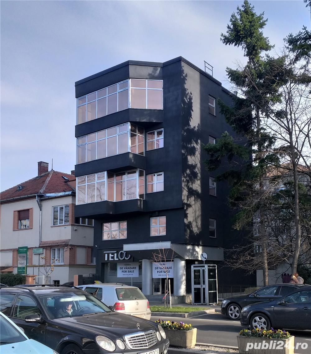 Cladire de birouri S+P+4 etaje, str. Popa Sapca, nr. 10, pret vanzare 1.050.000 euro.