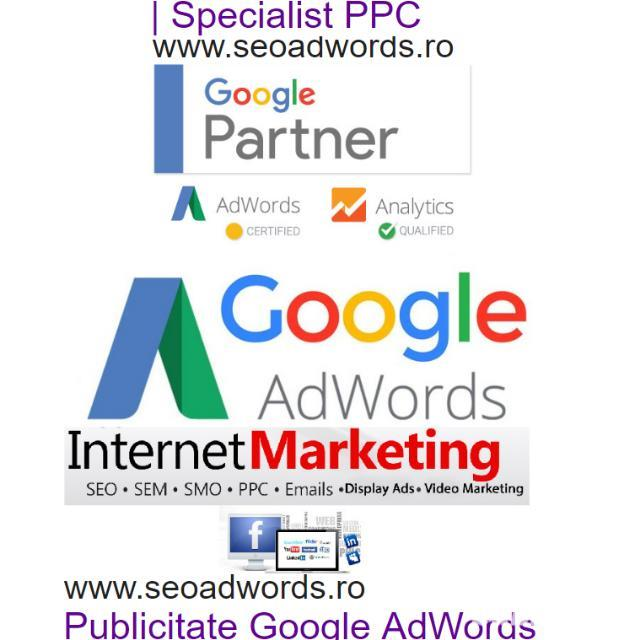 Specialist PPC Google AdWords - Specialist Marketing Online caut Firma