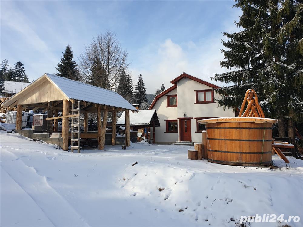 Inchiriez cabana / casa de vacanta in Piricske, langa Harghita Bai