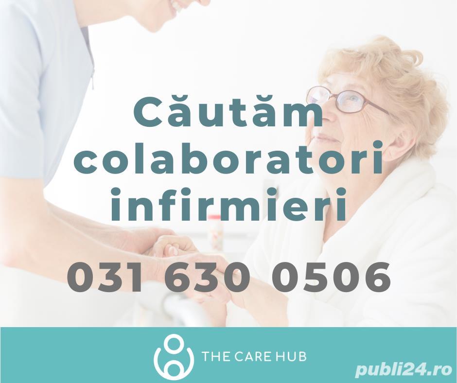 Căutăm infirmieri calificați (Timișoara: Ciarda Roșie, Lipovei, Circumvalațiunii)