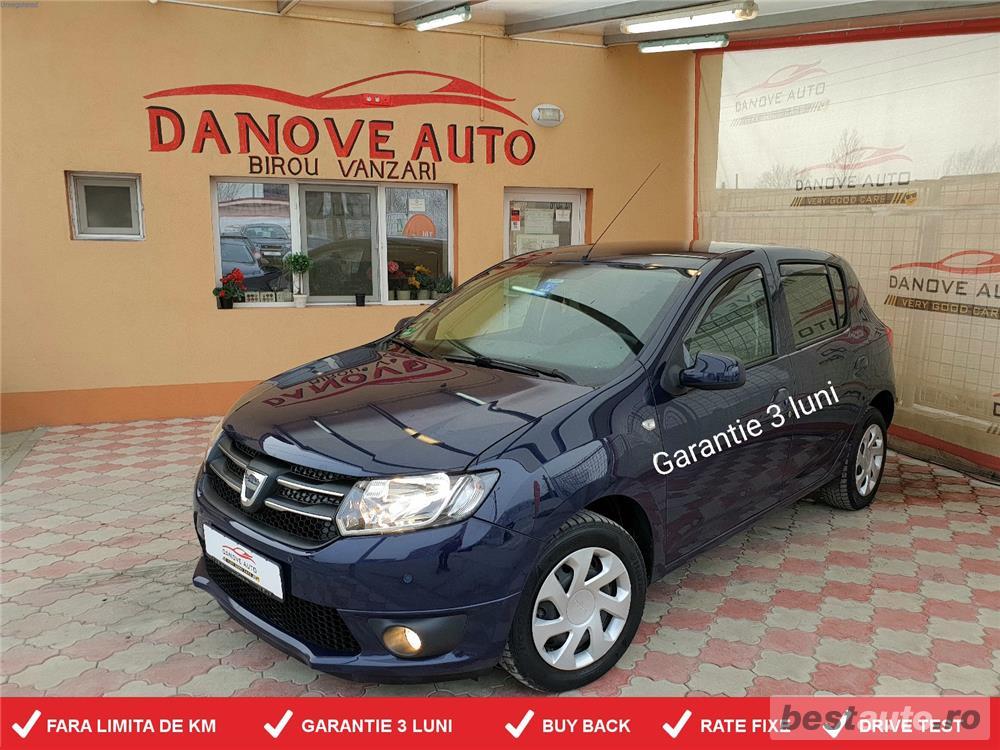 Dacia Sandero,GARANTIE 3 LUNI,BUY BACK ,RATE FIXE,motor 1200 Cmc,Benzina+Gaz.