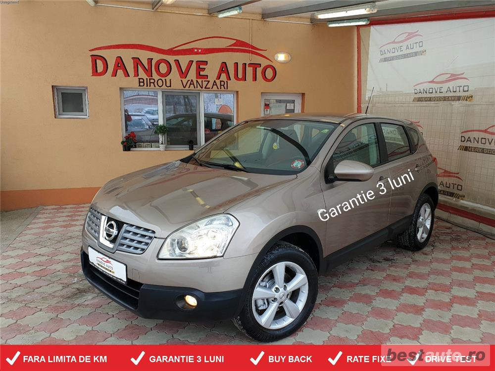Nissan Qashqai,GARANTIE 3 LUNI,BUY BACK,RATE FIXE,1600 Cmc,115 Cp,benzina.