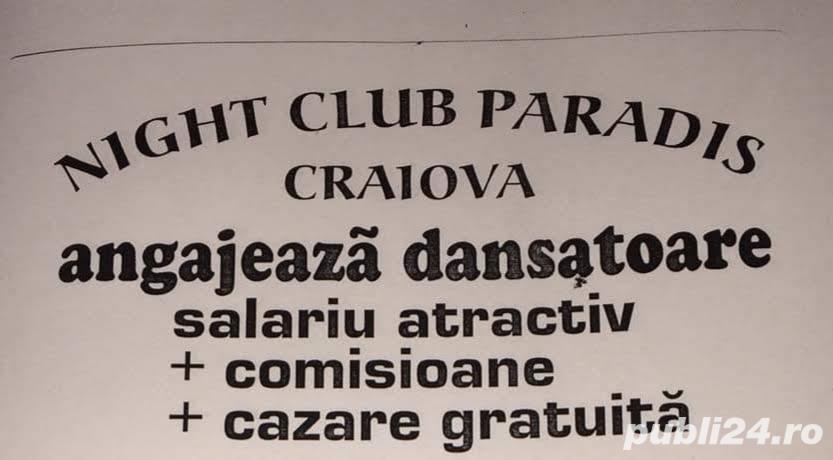 Club de noapte angajeaza  Dansatoare (Animatoare ) cu sau fara experienta
