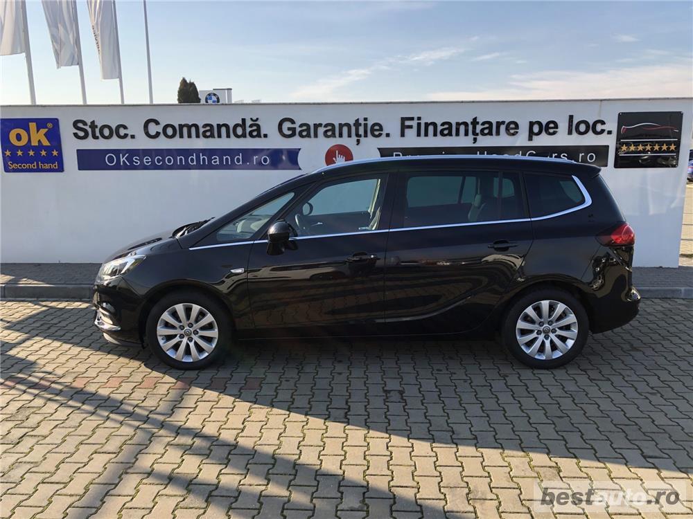 Opel Zafira Tourer | 1.6D | Navi | Scaune+volan incalzite | Senzori parcare+camera | Clima | 2017.