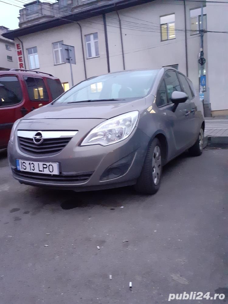 Opel Meriva diesel euro 5