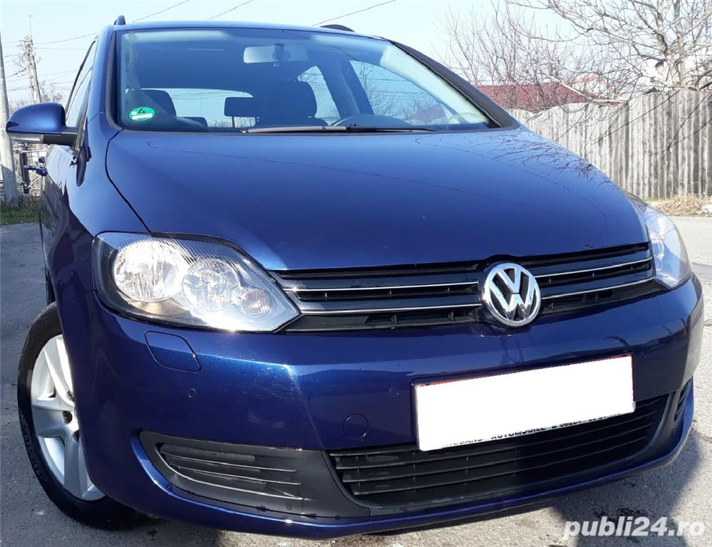 Euro 5, VW Golf 6 Plus, 1.4 TSI/122 cp, 2010