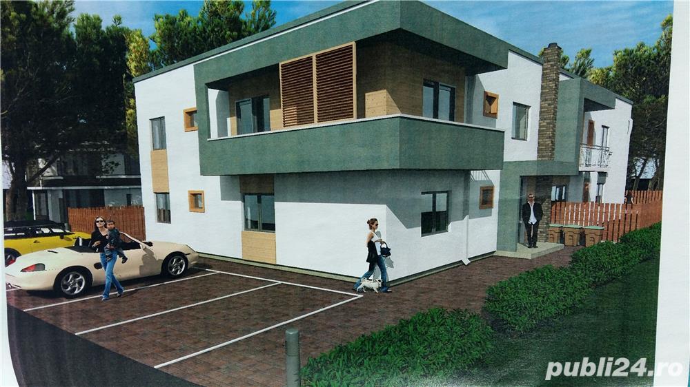 Inchiriez apartament 3 camere la vila.
