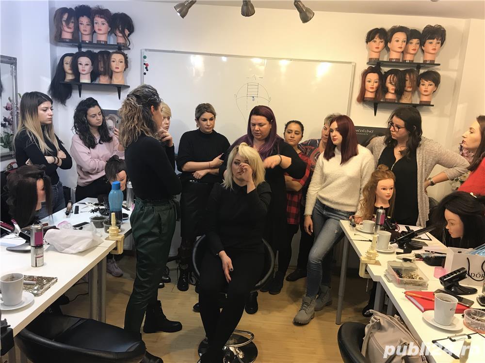Curs coafura alina milin beauty academy timisoara - 4250 lei