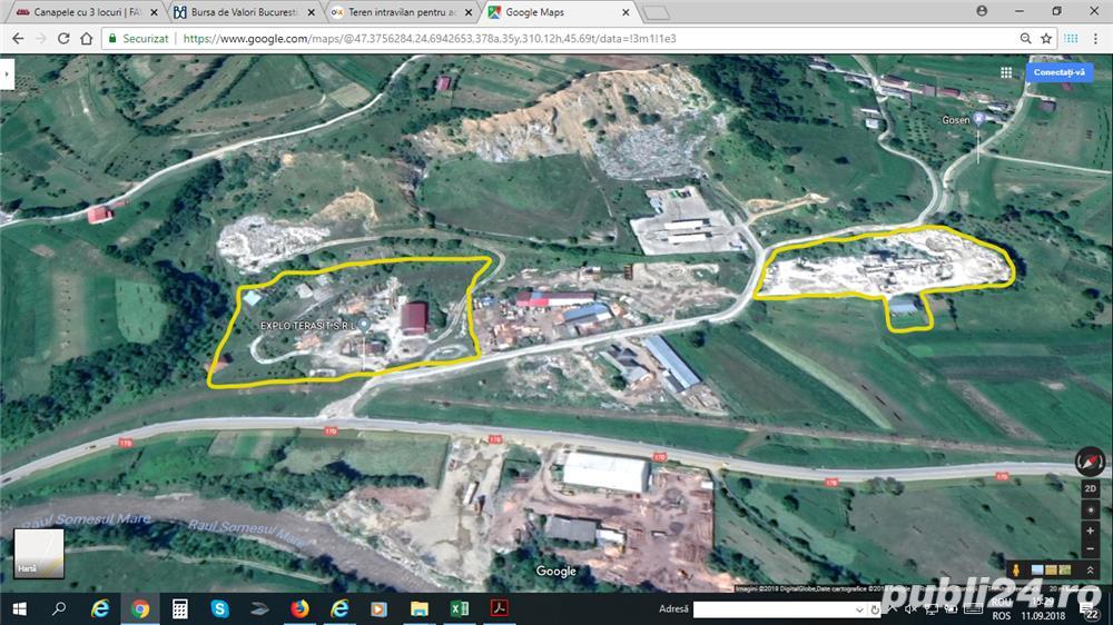 Teren pentru activitati industriale 1,15 ha, Sangeorz Bai, BN