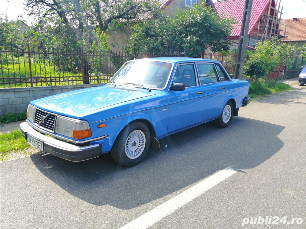 Volvo 244 GLE D6, Vehicul istoric in acte!!!Clima,Geamuri electrice!!!