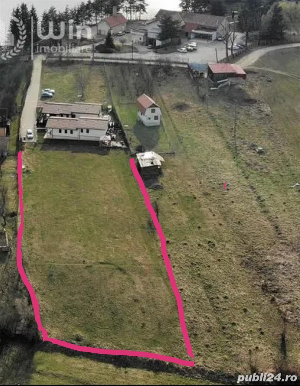 Vând teren zona Motel Gilau