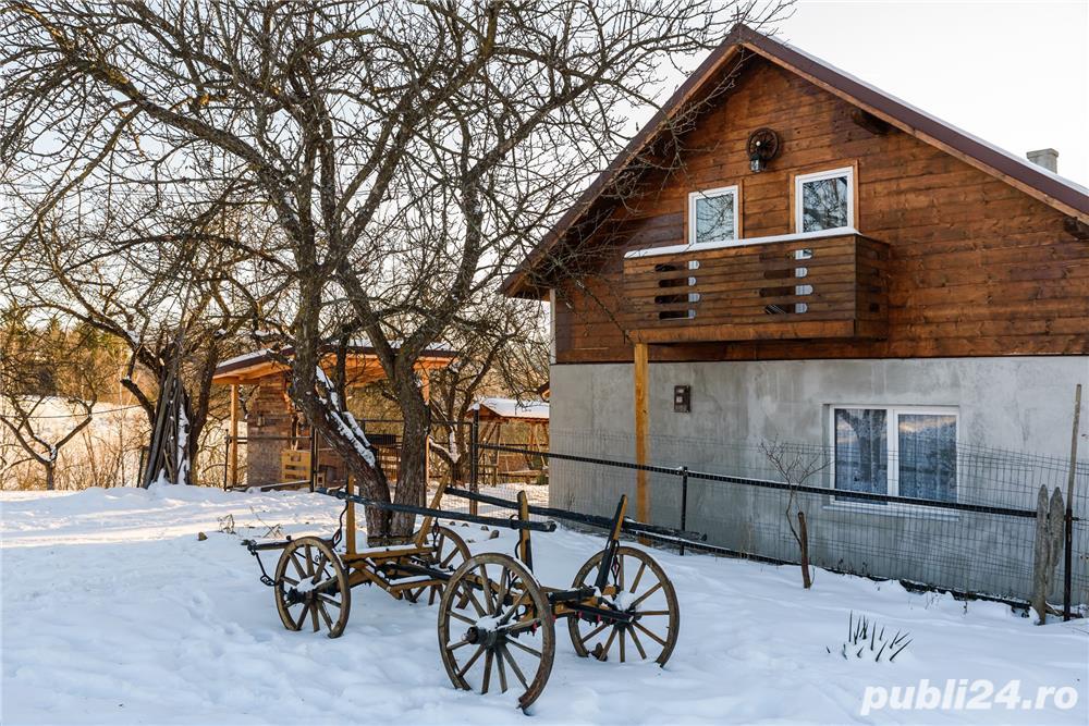 Ocupata de revelion. Cabana de inchiriat in Rasca, jud. Cluj